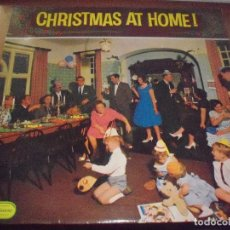 Discos de vinilo: LP CHRISTMAS AT HOME. VARIOS ARTISTAS. EDICION EMBASSY DE 1961 (UK). . Lote 80205393