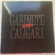 Discos de vinilo: DISCO VINILO GABINETE CALIGARI. Lote 80208557