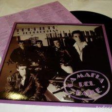 Discos de vinilo: LOQUILLO Y TROGLODITAS LA MAFIA DEL BAILE LP 1985 + ENCARTE HISPAVOX.. Lote 80220693