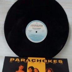 Discos de vinilo: LP PARACHOKES PROVOCAR HISPAVOX 1992. Lote 80222893