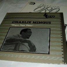 Discos de vinilo: CHARLIE MINGUS MINGUS PLAYS PIANO LP 1982 MCA. Lote 80228357