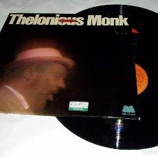 Discos de vinilo: THELONIOUS MONK ?– PURE MONK LP DOBLE 1973 + DOBLE PORTADA MILESTONE. Lote 80233841