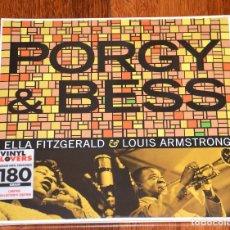 Discos de vinilo: PORGY & BESS - LOUIS ARMSTRONG ELLA FITZGERALD - DOBLE VINILO - NUEVO PRECINTADO - 180GR. Lote 80256733