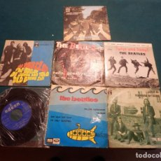 Discos de vinilo: THE BEATLES (YELLOW SUBMARINE+SHE LOVES YOU+COME TOGETHER+HELLO, GOODBYE..) LOTE 7 SINGLES Y E.P.. Lote 80266121