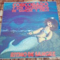 Discos de vinilo: CORCOBADO Y LOS CHATARREROS DE SANGRE Y CIELO - RITMO DE SANGRE . LP. Lote 147842702