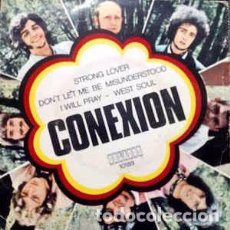 Discos de vinilo: CONEXION -STRONG LOVER +3 (ORLADOR – 10189 7'', EP 1970) FUNK SOUL. Lote 80272505
