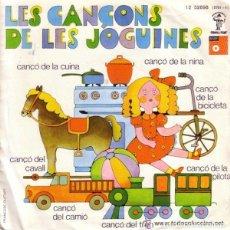 Discos de vinilo: JOSEP MARIA ESPINÀS / FRANCESC BURRULL, LES CANÇONS DE LES JOGUINES - EP REISSUE 1975 MÚSICA - DIS. Lote 80279297