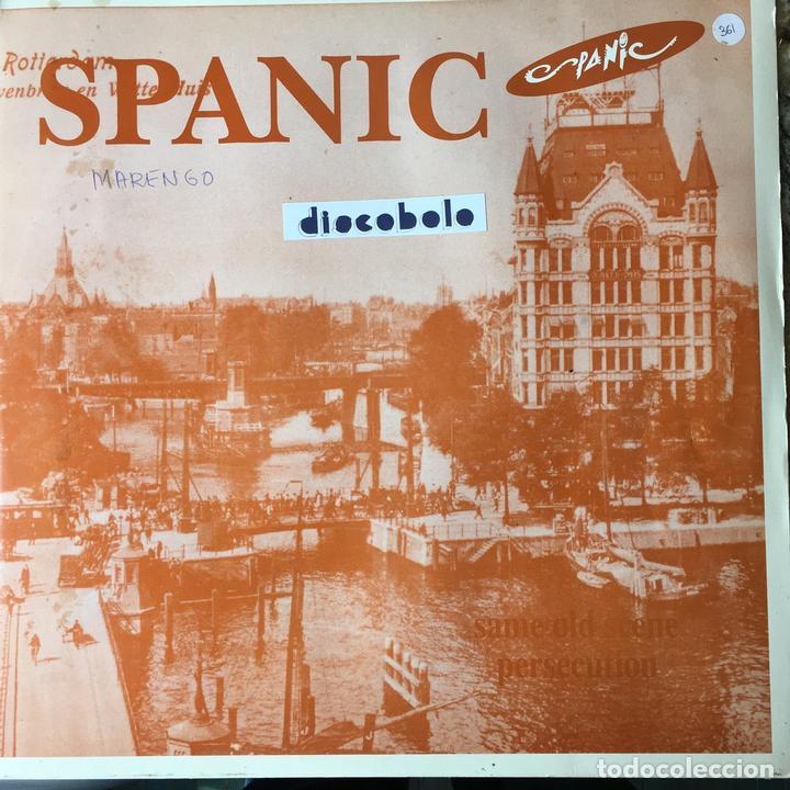 SPANIC - SAME OLD SCENE . 1992 SPANIC COMUNICACION (Música - Discos de Vinilo - Maxi Singles - Grupos Españoles de los 90 a la actualidad)