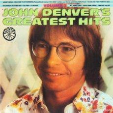 Discos de vinilo: JOHN DENVER - GREATEST HITS VOL. 2 (LP, VINILO, RCA 1977). Lote 80297189