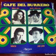 Discos de vinilo: CAFE DEL BURRERO - LP - 1972 - COMO NUEVO. Lote 80306901