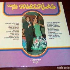 Discos de vinilo: CANTE POR BULERIAS - LP - 1974 - . Lote 80309153