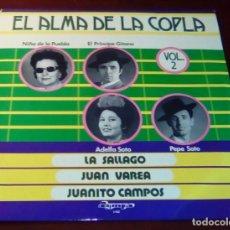 Discos de vinilo: EL ALMA DE LA COPLA - VOL.2 - LP - 1973 . Lote 80310713