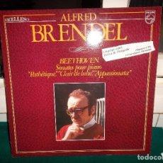 Discos de vinilo: ALFRED BRENDEL, BEETHOVEN SONATAS PARA PIANO. PHILIPS EXCELLENCE 1972. Lote 80329101