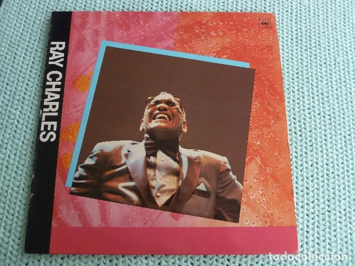 RAY CHARLES - I WAS ON GEORGIA TIME - LP - 1984 (Música - Discos de Vinilo - EPs - Jazz, Jazz-Rock, Blues y R&B)