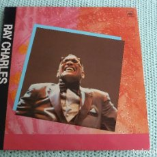 Discos de vinilo: RAY CHARLES - I WAS ON GEORGIA TIME - LP - 1984. Lote 80331049