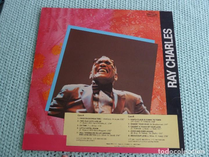 Discos de vinilo: RAY CHARLES - I WAS ON GEORGIA TIME - LP - 1984 - Foto 2 - 80331049