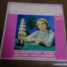 Discos de vinilo: DISCO VINILO: MARIA DOLORES PRADERA.-SIN DECIRTE ADIOS Y TRES CANCIONES MAS. Lote 80331185