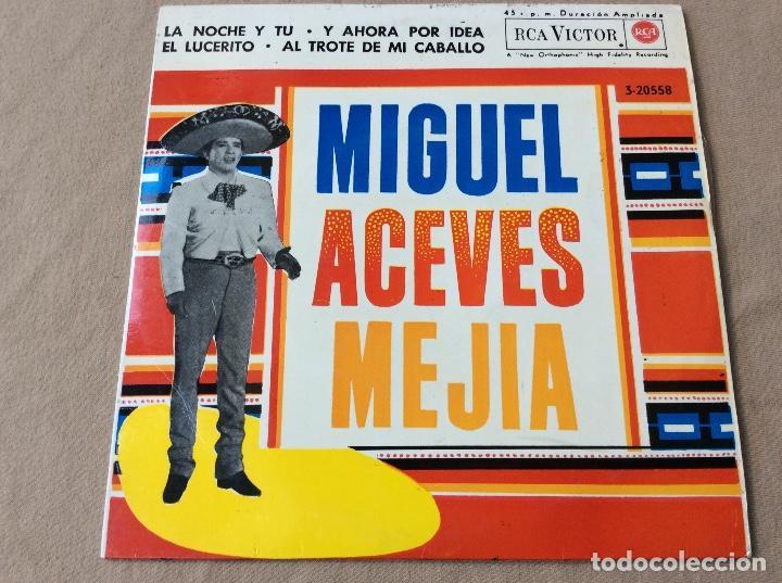 MIGUEL ACEVES MEJIA CON EL MARIACHI VARGAS DE TECALITLAN. LA NOCHE Y TÚ Y 3 MAS. RCA 1962 (Música - Discos de Vinilo - EPs - Grupos y Solistas de latinoamérica)