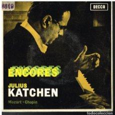 Discos de vinilo: JULIUS KATCHEN - ENCORES - EP 1964. Lote 80358509