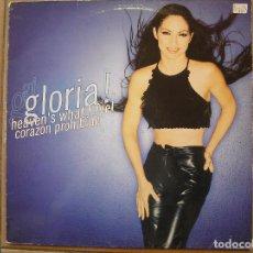 Discos de vinilo: GLORIA ESTEFAN -HEAVEN`S WHAT I FEEL - EPIC 1998 - MAXI - P. Lote 80365409