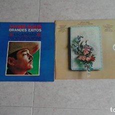 Discos de vinilo: LOTE DE 2 DISCOS LP DE JAVIER SOLÍS. Lote 80380865