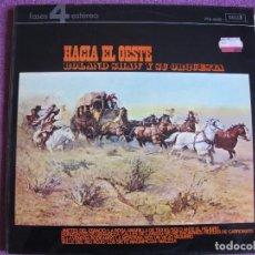 Discos de vinilo: LP - ROLAND SHAW Y SU ORQUESTA - HACIA EL OESTE (SPAIN, DECCA RECORDS 1978). Lote 80382617