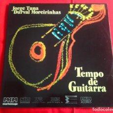 Discos de vinilo: JORGE TUNA & DURVAL MOREIRINHAS – TEMPO DE GUITARRA (LP) - FADO -. Lote 80383241