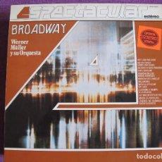 Discos de vinilo - LP - WERNER MULLER Y SU ORQUESTA - BROADWAY (SPAIN, TELEFUNKEN 1983) - 80385853