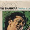 Discos de vinilo: LP RAVI SHANKAR. PORTRAIT OF GENIUS. 1975. SPAIN (PROBADO, BIEN, ESCRITURA CARÁTULA, VER FOTOS). Lote 80410585