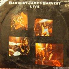 Discos de vinilo: BARCLAY JAMES HARVEST LIVE (DOBLE). Lote 80421670