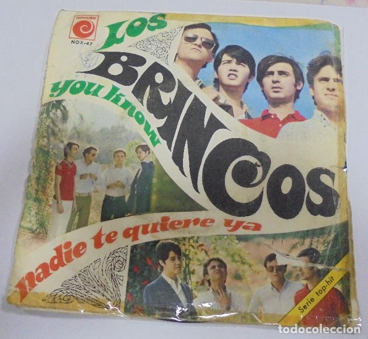 SINGLE. LOS BRINCOS. YOU KNOW / NADIE TE QUIERE YA. 1967. NOVOLA (Música - Discos - Singles Vinilo - Grupos Españoles 50 y 60)