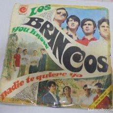 Discos de vinilo: SINGLE. LOS BRINCOS. YOU KNOW / NADIE TE QUIERE YA. 1967. NOVOLA. Lote 80422557