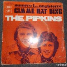 Discos de vinilo: THE PIPKINS-GIMME DAT DING-TO LOVE YOU - COLUMBIA -ED TATHE MARCONI PARIS. Lote 80427585