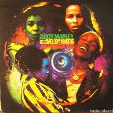 Discos de vinilo: ZIGGY MARLEY JAHMEKYA 1991. Lote 80430091