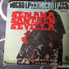 Discos de vinilo: ANTIGUO EP SEMANA SANTA SEVILLA. Lote 80465553