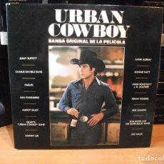 Discos de vinilo: BSO - URBAN COWBOY URBAN COWBOY LP SPAIN 1980 PDELUXE . Lote 80466885