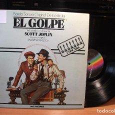 Discos de vinilo: BSO - EL GOLPE EL GOLPE - SCOTT JOPLIN LP SPAIN 1981 PDELUXE . Lote 80475505
