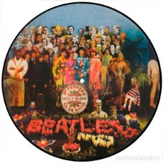 Disques de vinyle: BEATLES LP SGT PEPPERS LONELY HEARTS CLUB BAND VINILO PICTURE DISC MUY RARO DEMOS OUTTAKES. Lote 260728045