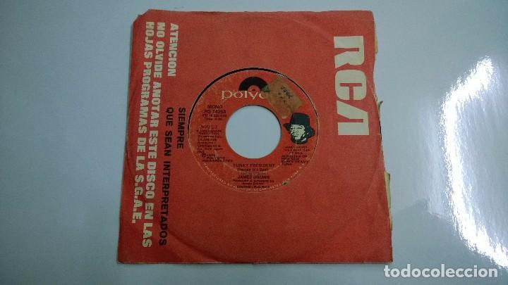 JAMES BROWN.FUNKY PRESIDENT.SINGLE.1974.POLYDOR. (Música - Discos - Singles Vinilo - Funk, Soul y Black Music)