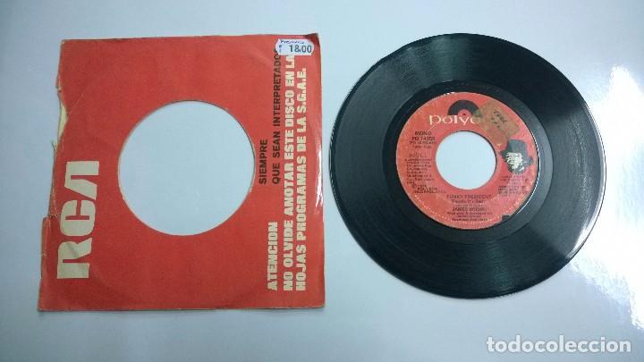 Discos de vinilo: James Brown.Funky President.SINGLE.1974.POLYDOR. - Foto 2 - 80499561
