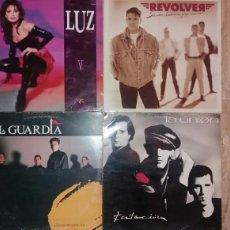 Discos de vinilo: LOTE POP-ROCK ESPAÑOL.LUZ.LA FRONTERA.REVOLVER.LA UNION.......10 DISCOS.. Lote 80503377