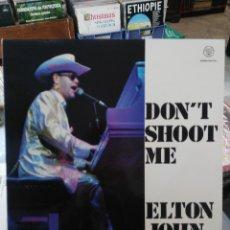 Discos de vinilo: ELTON JOHN - DON´T SHOOT ME I´M ONLY THE PIANO PLAYER - LP. . Lote 80503945