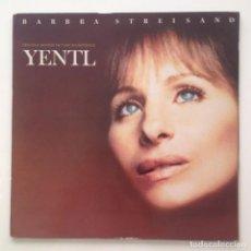 Discos de vinilo: B.S.O: YENTL (1983) PROMO/SPAIN. Lote 80505413