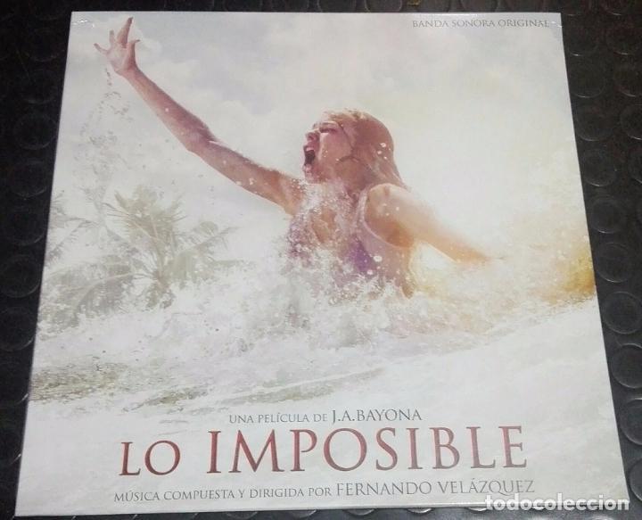 LO IMPOSIBLE LP - BSO (Música - Discos - LP Vinilo - Bandas Sonoras y Música de Actores )