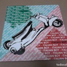 Discos de vinilo: DE NIRO (MX) ITALIAN BOY +2 TRACKS AÑO 1987. Lote 107650224
