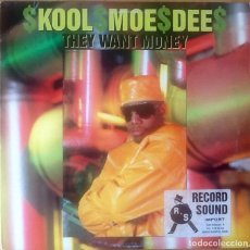 Discos de vinilo: KOOL MOE DEE : THEY WANT MONEY [USA 1989]. Lote 80512201