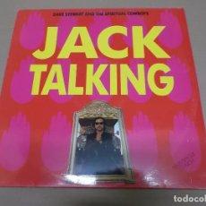 Discos de vinilo: DAVE STEWART AND THE SPIRITUAL COWBOYS (MX) JACK TALKING +2 TRACKS AÑO 1990. Lote 80514249