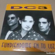 Discos de vinilo: DC 3 (MX) FUNDIENDOME EN TU LUZ +3 TRACKS AÑO 1994. Lote 80515893