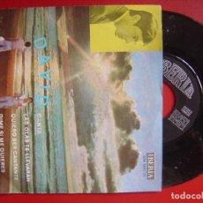Discos de vinilo: DAVID LAS OLAS TE LLEVARAN + 3 EP 45 IBERIA 1971. Lote 80516977