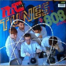 Discos de vinilo: MC TUNES VS 808 STATE : TUNES SPLITS THE ATOM [UK 1990] 12'. Lote 80524957